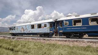Video of the Hiram Bingham train