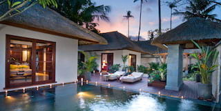 Deluxe pool villas at Belmond Jimbaran Puri