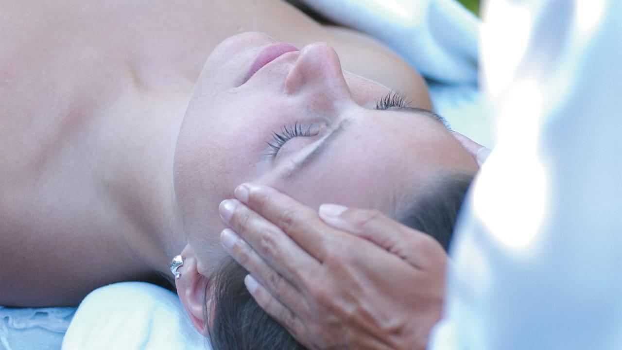 Spa treatment at Belmond La Samanna