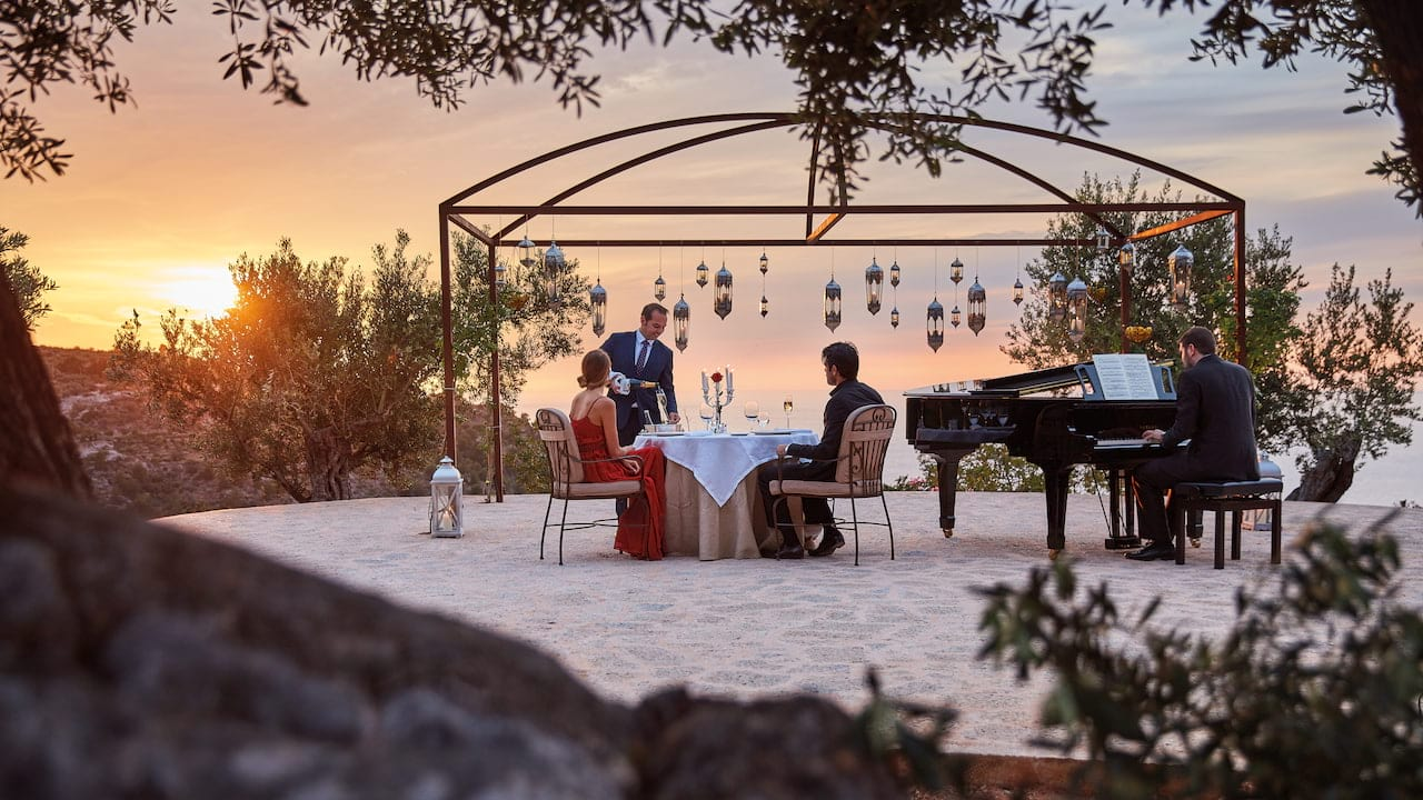 Private dining at La Residencia