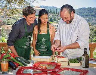 Clases de cocina en Mallorca