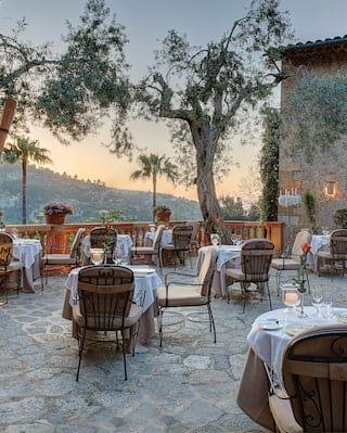 El Olivo restaurant em Deia