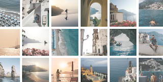 Amalfi coast pictures
