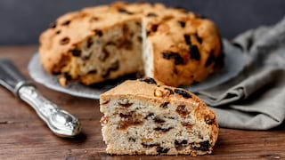 pandolce baciccia genoese cake