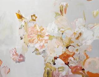 Helen Bellardie's landscape art at Belmond Cadogan Hotel