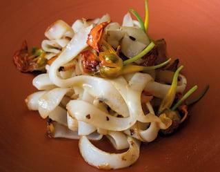 Venetian 'cick e ciak' squid