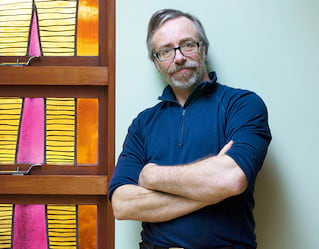 Peadar Lamb, Stained-Glass Artist