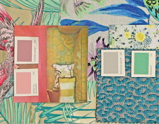 Matthew Williamson design board