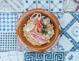 Couscous di pesce alla trapanese