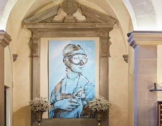 Art at Villa San Michele