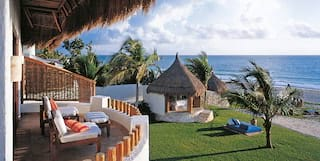 Beachfront casitas at Belmond Maroma Resort & Spa