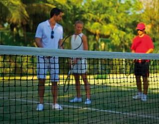 Tennis in the Riviera Maya