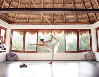 Yoga in the Riviera Maya