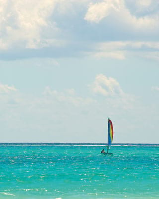 Hobie Cat, Playa Maroma