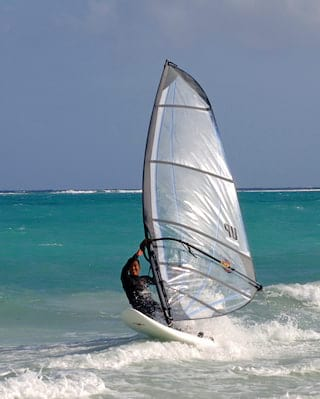 Windsurfing in Anguilla