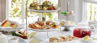 Afternoon Tea at Belmond Mount Nelson Hotel