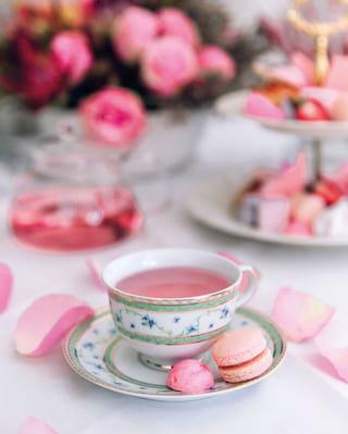 Rose Petal Afternoon Tea