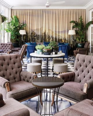 Classic menu Belmond Mount Nelson Hotel