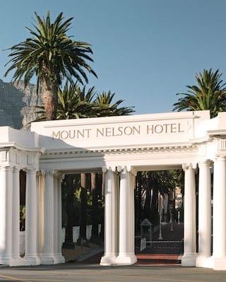 Belmond Mount Nelson Hotel gate
