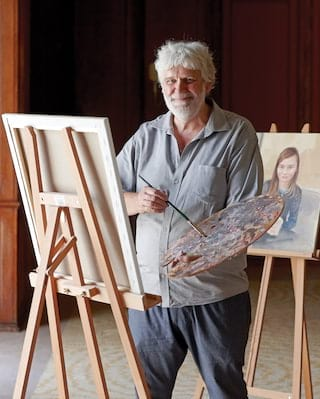 Painting Class With Cyril Coetzee