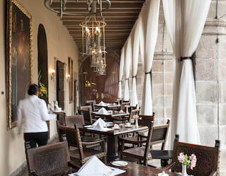 Dining at Belmond Hotel Monasterio