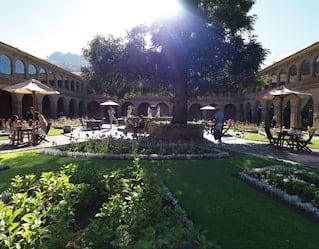 Belmond Hotel Monasterio courtyard