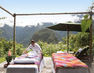 Relaxation in Machu Picchu