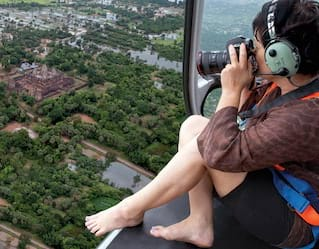 Helicopter Tours of Angkor