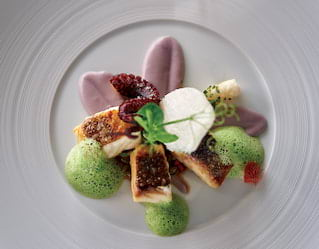 Food by Michelin-starred Chef Luis Pestana