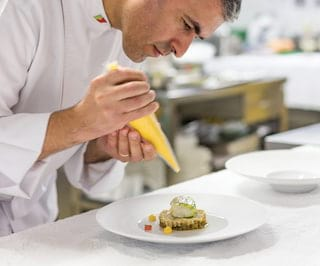 William restaurant chef Luis Pestana