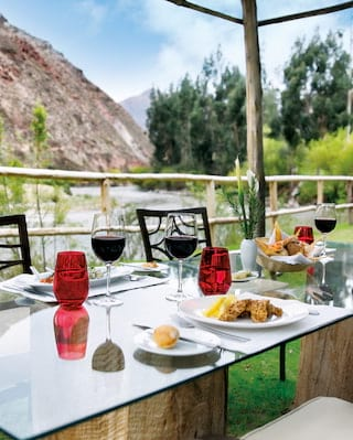 El Jardin restaurant in Sacred Valley