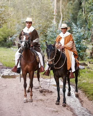 Horse riding in Sacred Valley