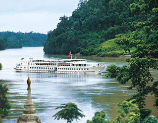 Belmond Road to Mandalay Expedition Cruising