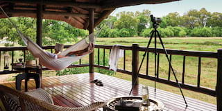 Relaxation at Khwai River Lodge in Botswana, Belmond Safari