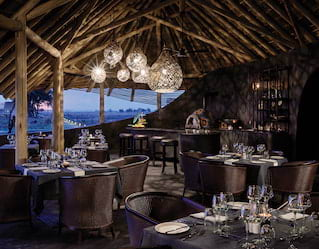Belmond Safaris Restaurant