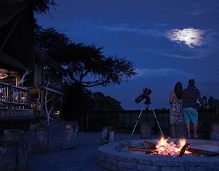 Stargazing on Safari in Botswana