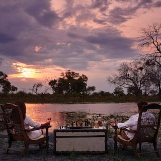 Dining in the savannah, unique dining experiences