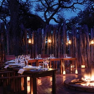 Savute Boma, unique dining experiences