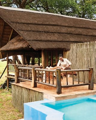 Luxury safari spa in Botswana