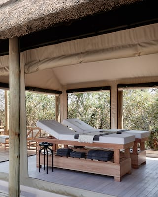 Luxury spa on safari, Botswana