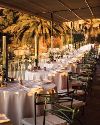 La Terrazza restaurant, em Portofino