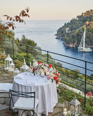 micro wedding in portofino italy