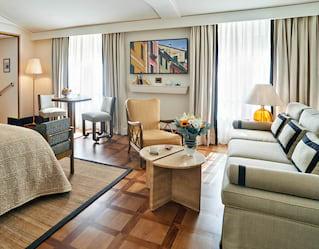 Suite interior of Splendido Mare a Belmond Hotel