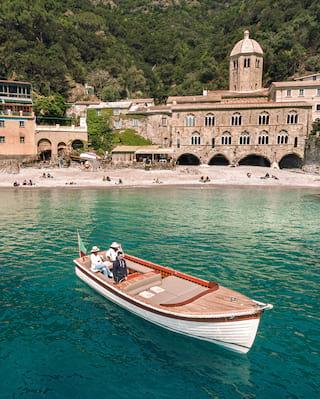 sailing Gozzo boat