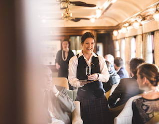 Leisure groups aboard Belmond Royal Scotsman