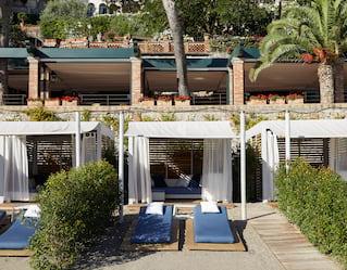 Belmond Villa Sant'Andrea Private Beach Cabanas