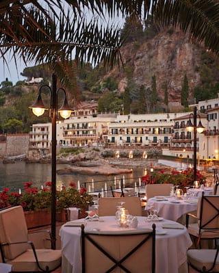Restaurant Oliviero in Taormina