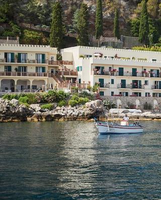 Boat trip in Taormina