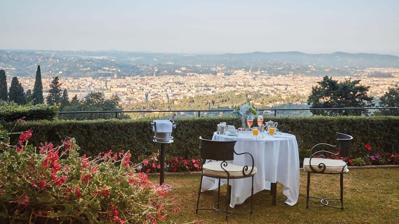 Lover's corner, Belmond Villa San Michele