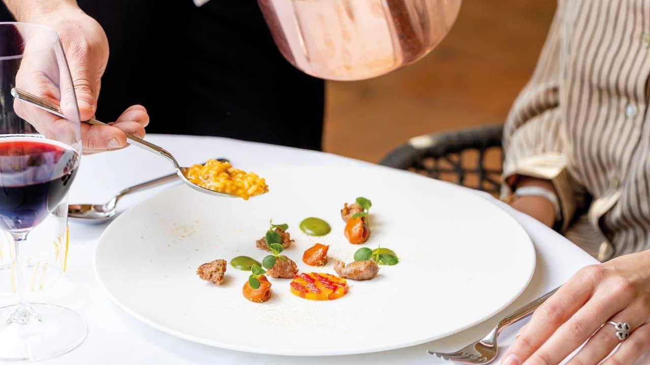 Room service at Belmond Villa San Michele